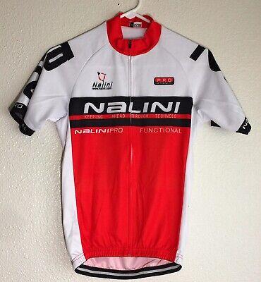 Nalini LOGO RED JERSEY RRP £79 55/% off SALE SUMMER CYCLING  bike Short sleeve