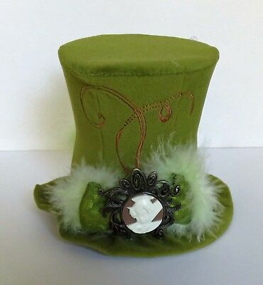 Steampunk Tinkerbell (Disney Parks Tinker Bell Mini Hat One Size For Adults Halloween)