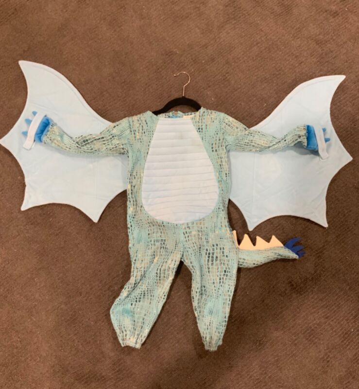 Pottery Barn Kids Blue Dragon Costume size 3T