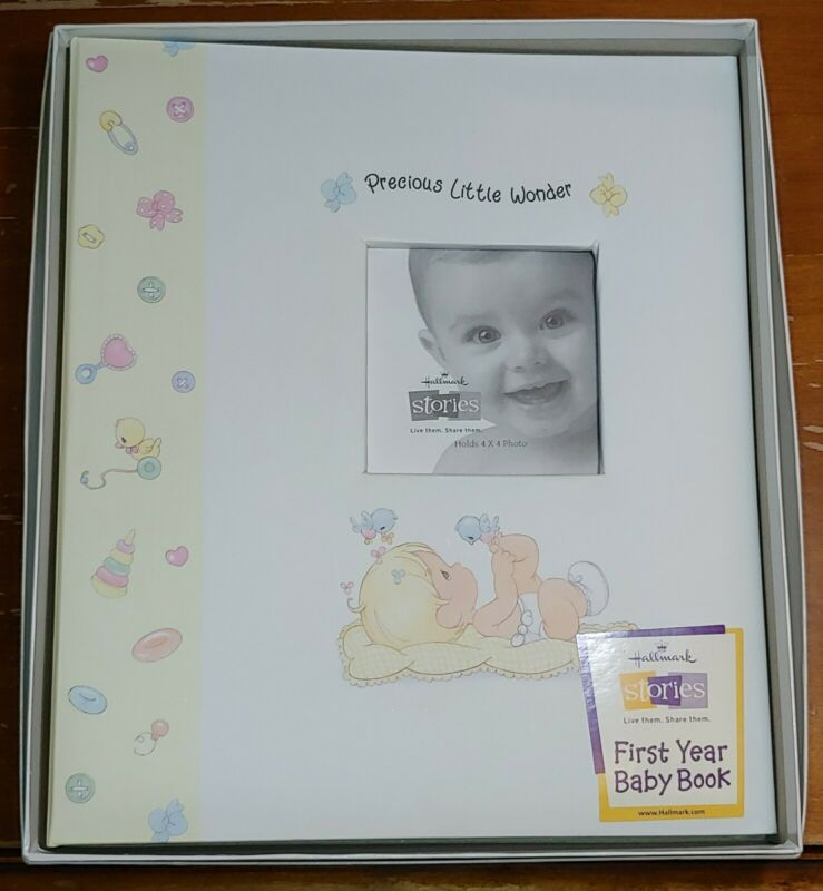 NEW IN BOX Fill-In Memory Book Precious Moments Little Wonder Baby Shower Gift