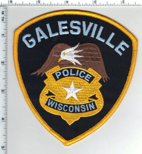 Galesville Police (Wisconsin)3rd Issue Shoulder Patch
