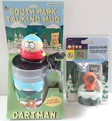 "South Park Talking Mug & Air Freshener Cartman Kenny ""I'm Not Fat I'm Big-Boned"""