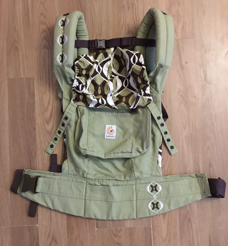 Ergobaby Original Baby Carrier, Bamboo Forest (Discontinued by Manufacturer)