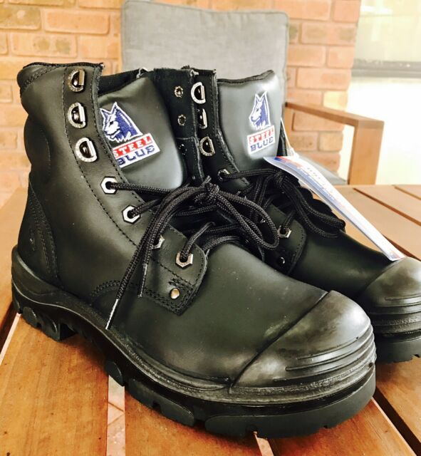 Work boots - safety shoe - steel toe  c2bbc7a90