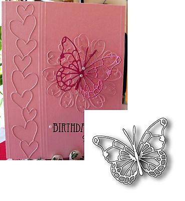 Memory Box Dies Vivienne Butterfly metal die 98265 Detail Insects Animals