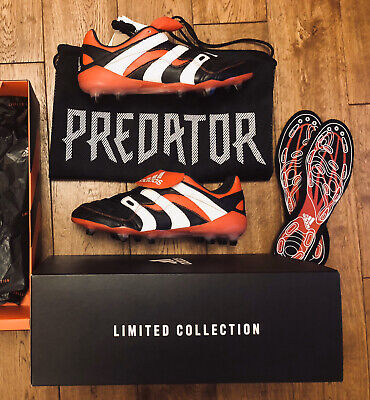 Predator Accelerator FG UK8.5 Remake 2018 Football Boots Adidas  **Genuine**