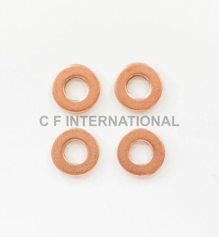 Fiat Doblo Cargo 1.3 Multijet Common Rail Diesel Injector Washers//Seals x 4