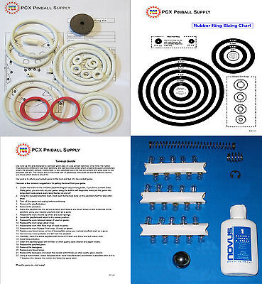 1971 Williams Doodle Bug Pinball Tune-up Kit - Includes Rubber Ring Kit!