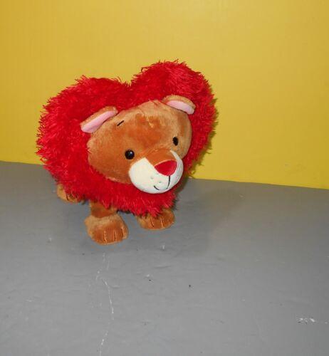 """Hallmark LITTLE LIONHEART Valentine Plush Sound & Motion Cute """"Wild Thing"""""""