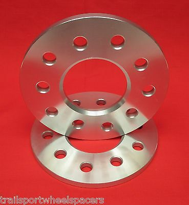 "1/4"" WHEELS BILLET SPACERS Chevy Camaro Corvette 5x4.75"