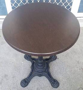Cast Iron Restaurant / Cafe Style Tables (x 8 tables) Viewbank Banyule Area Preview