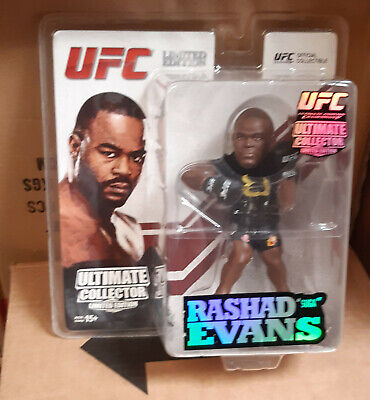 """Used, UFC Ultimate Fighting Champion RASHAD EVANS 6"""" Limited Edition T Shirt figure for sale  Shipping to Ireland"""