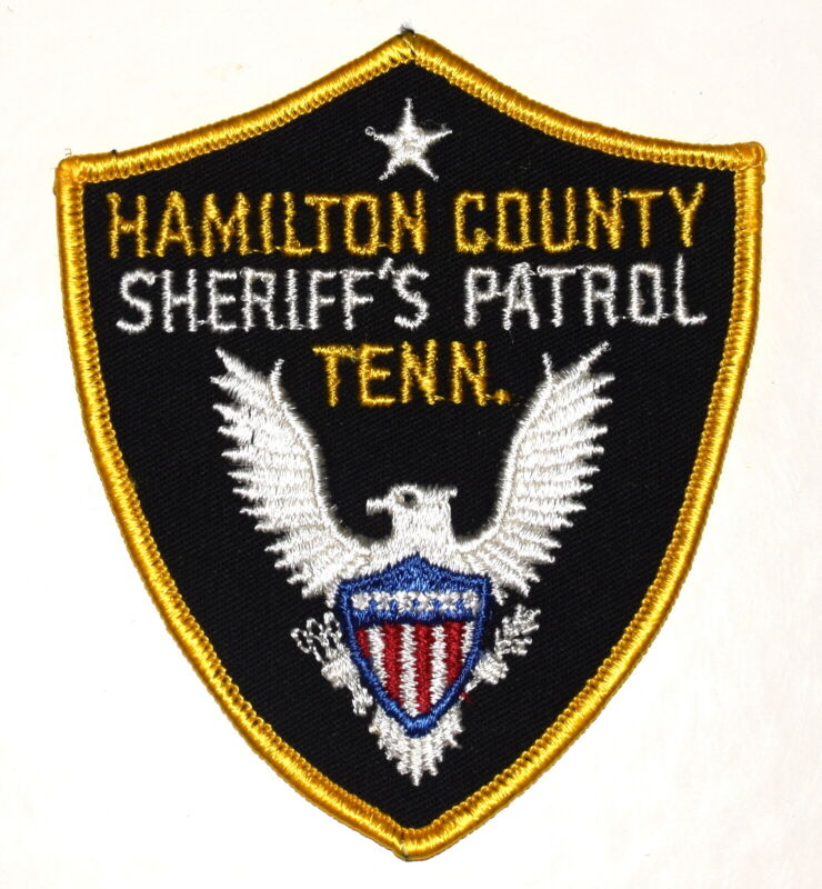 HAMILTON COUNTY – SHERIFF'S PATROL - TENNESSEE TN Sheriff Police Patch VINTAGE ~