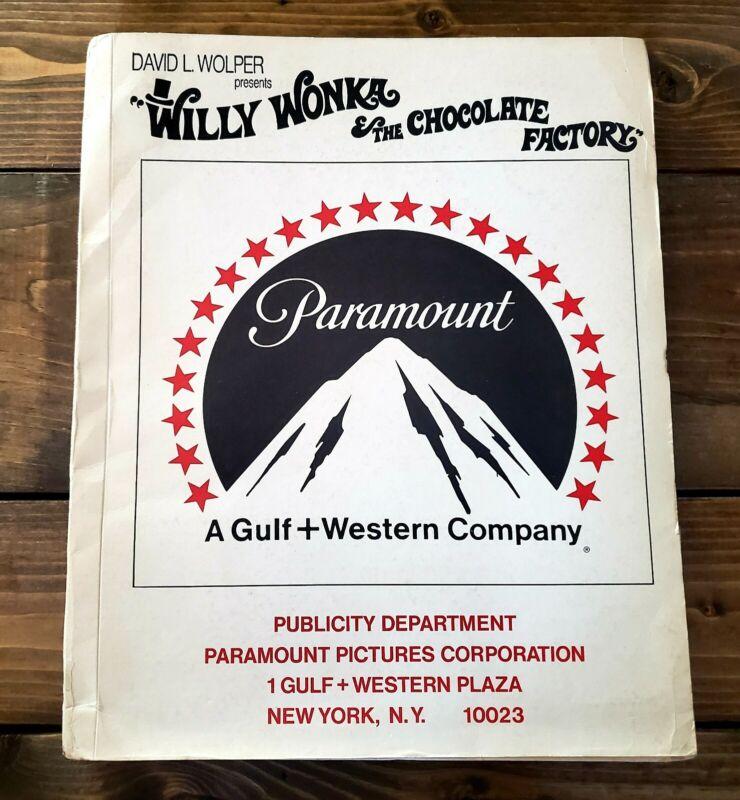 "1971 ""WILLY WONKA & THE CHOCOLATE FACTORY"" Orig MOVIE PRESS KIT With PHOTOS-Rare"