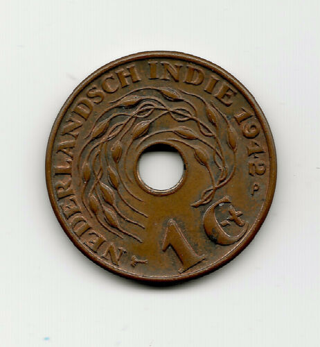 World Coins - Netherlands Indies 1 Cent 1942 Coin KM# 317 ; Lot-N4