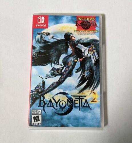 Bayonetta 2 Nintendo Switch Game Case Game Cover Art