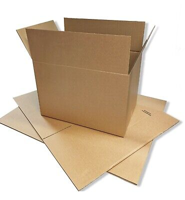 5x Extra Large (XXL) Cardboard Boxes Strong Double Wall Removal Moving Boxes