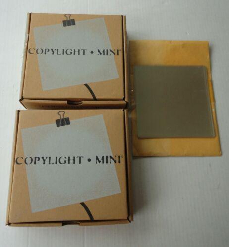 2 Vtg Mint Box NOS Brainbox Copylight Mini Light Box Schulte Dietz Germany USA