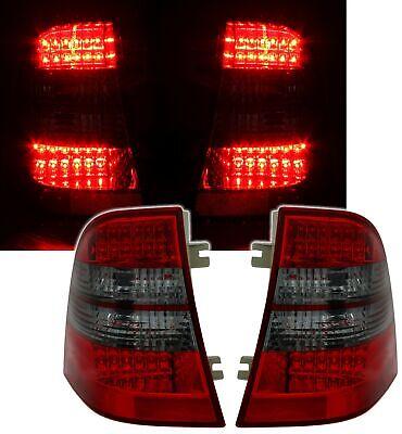 LED Rückleuchten Set Rot Schwarz für Mercedes ML M-Klasse W163 Heckleuchten