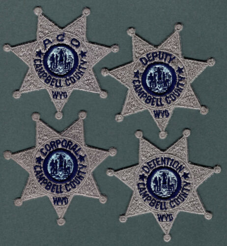 Campbell County Wyoming Police Patch set