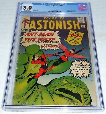 Tales to Astonish #44 CGC 3.0 Origin 1st Appearance of the Wasp Death Vernon 🔥