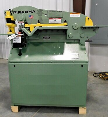 10170 New Piranha P50 Hydraulic Ironworker