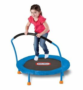 Little Tikes 3ft Indoor Mini Trampoline Jumping Toys Kids Ch