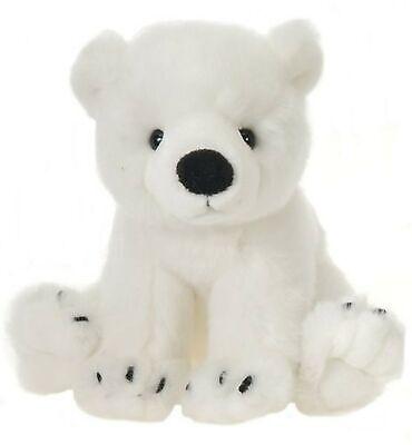 """Sitting Polar Bear 10"""" by Fiesta"""