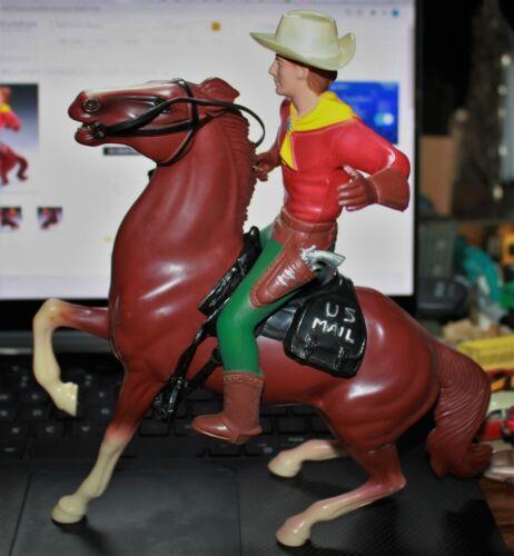 Hartland Vintage Pony Express Buffalo Bill Horse Large Vintage Plastic Figure NM