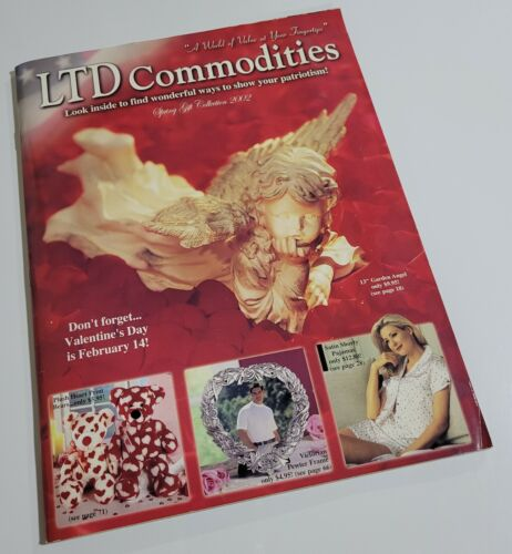 LTD Commodities Spring Gift Collection 2002 Catalog Valentines Patriotism