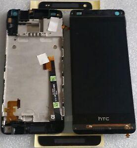 LCD-TOUCHSCREEN-DISPLAY-DIGITIZER-COMPLETO-CORNICE-IN-VETRO-NERO-HTC-ONE-MINI
