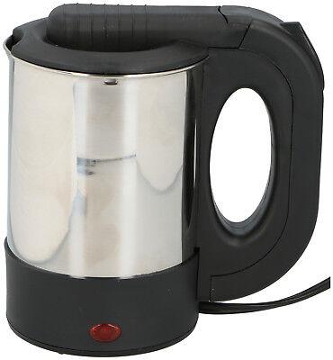 Wasserkocher 12V 0,5 L Edelstahl Ohne Heizspirale Überhitzungsschutz Auto  125W