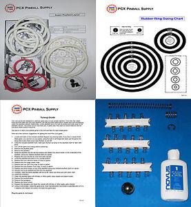 1979-Brunswick-Briarwood-Aspen-Pinball-Tune-up-Kit-Includes-Rubber-Ring-Kit