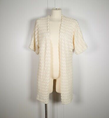Forever 21 Cream Beige Knit Cardigan Sweater Size Small S. New w/ Tags