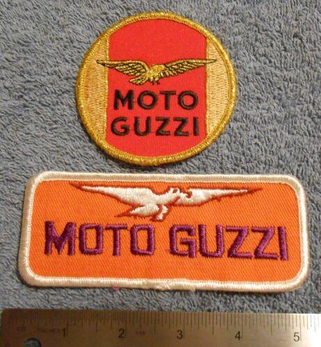 MOTO GUZZI  PATCHES    NOS   3-2