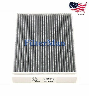 CARBONIZED CABIN AIR FILTER FOR CADILLAC CTS STS SRX CTS-V US SELLER