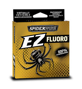 100-Fluorocarbon-Line-Spiderwire-EZ-200yd-Spool-All-Sizes