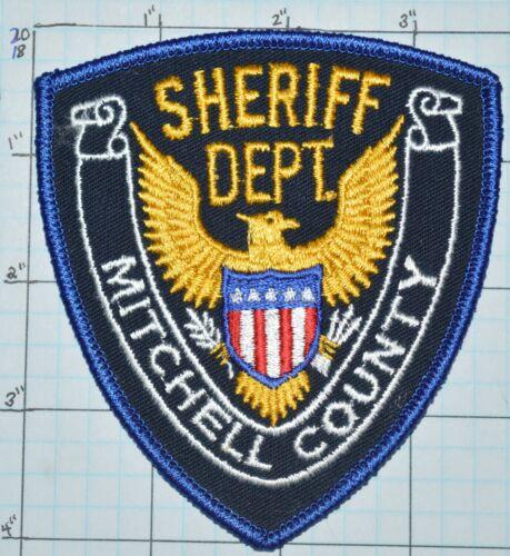 KANSAS, MITCHELL COUNTY SHERIFF DEPT PATCH