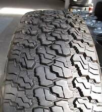 Goodyear Wrangler P245 75 R17 Used tyre 4wd 4x4 Jeep Wrangler Ferntree Gully Knox Area Preview