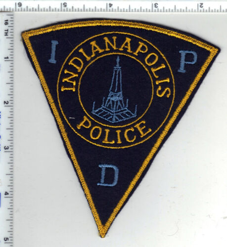 Indianapolis Police (Indiana) Felt Shoulder Patch - RARE from the late 1970