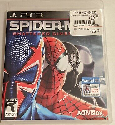 Spider-Man: Shattered Dimensions  - Sony PlayStation 3 - PS3 *Free Shipping*
