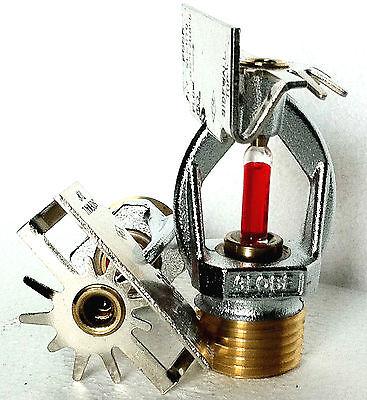 12 Npt 155f Chrome Horizontal Sidewall Fire Sprinkler Head Globe Gl5670 5.6k
