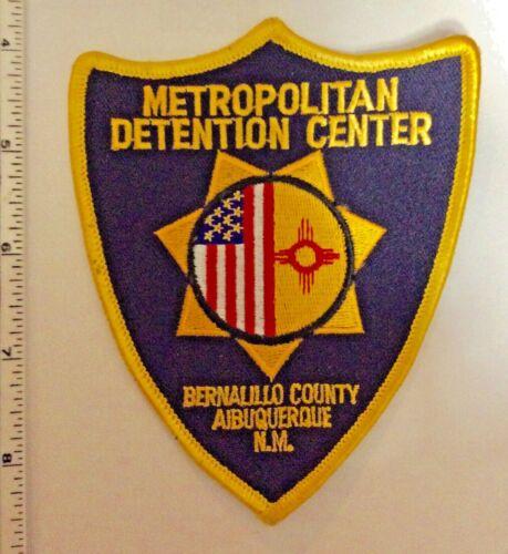 Bernalillo County New Mexico Metropolitan Detention Center Police Patch New