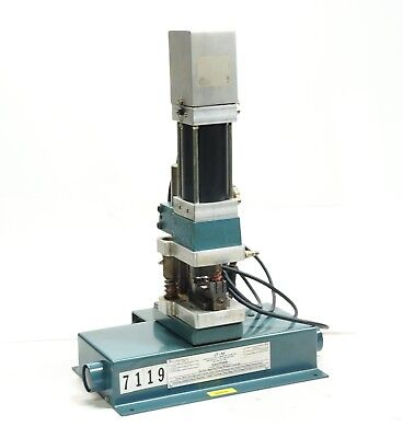 Janesville A-2066 14t Adjustable Precision Pneumatic Press W Die Attachment 600