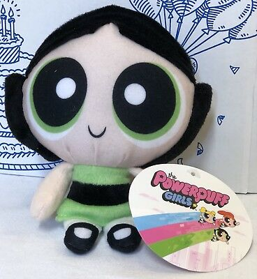 New THE POWERPUFF GIRLS Buttercup PLUSH TOY FACTORY Doll Cartoon Network Girl 8""