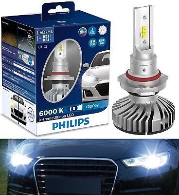 Philips X-Treme Ultinon LED 6000K White 9006 HB4 Two Bulbs Head Light Quality OE