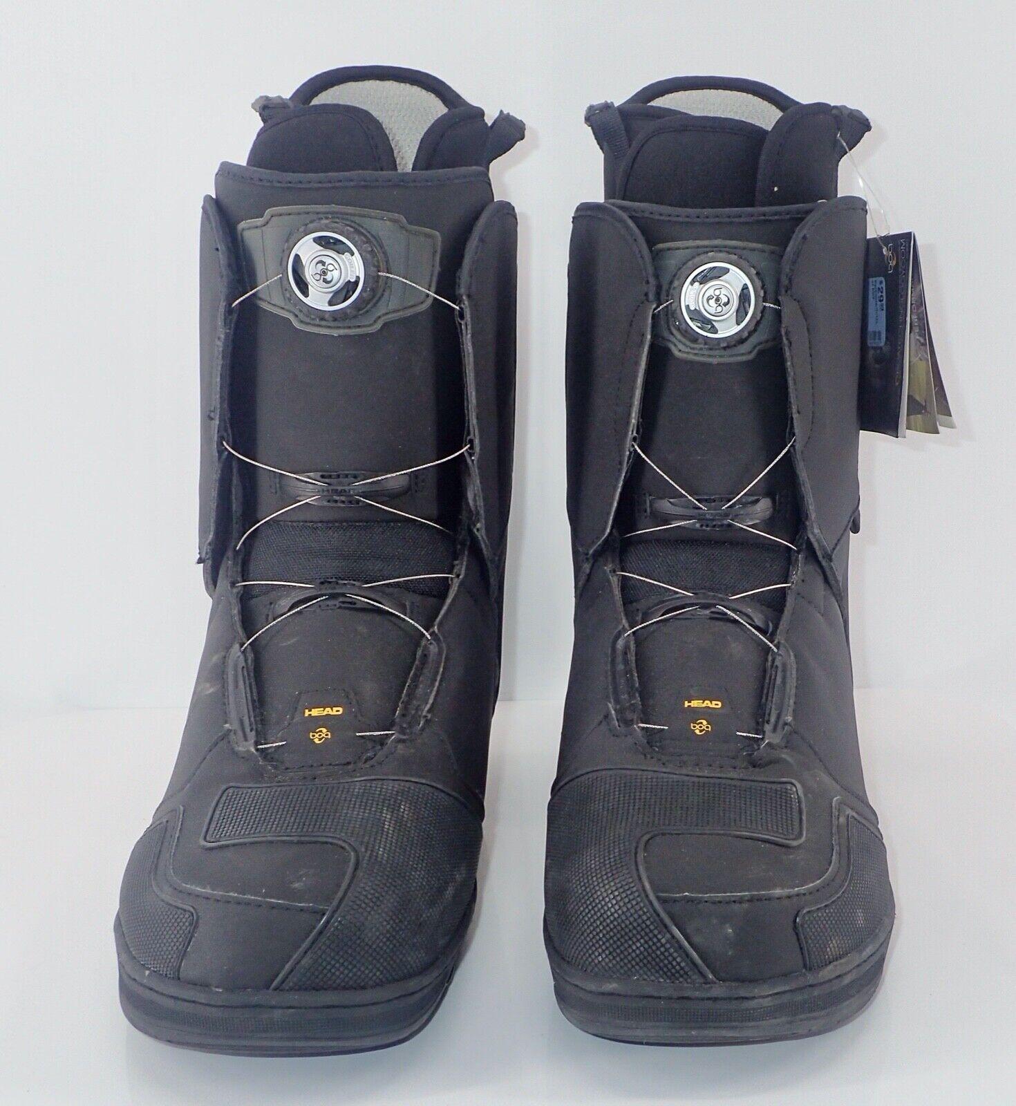 Head Snowboard Boots Size 14.5 / 32.5 Art # 357526 Black New