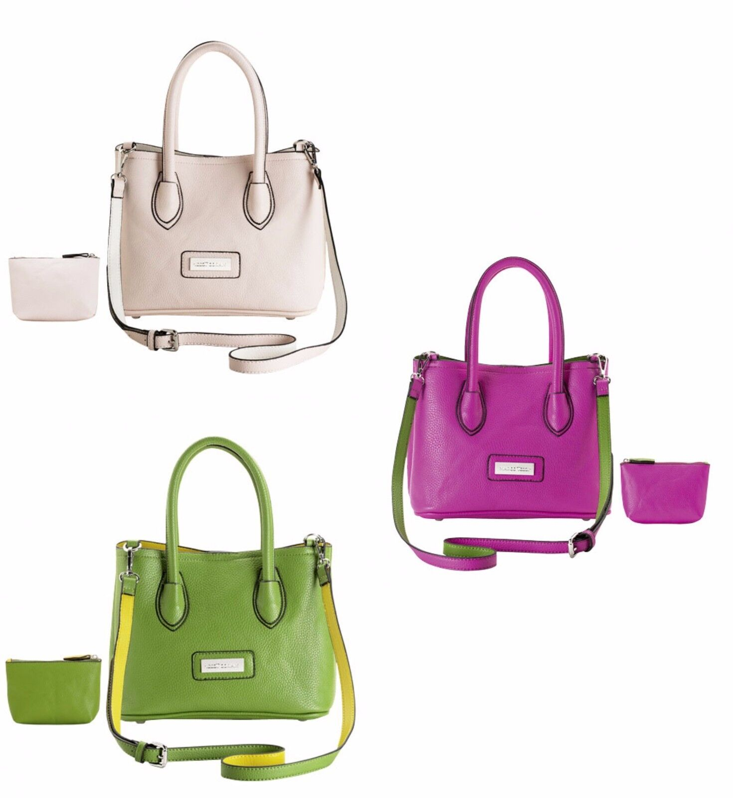 Marco Tozzi Handtasche Henkeltasche grün,beige oder pink 921