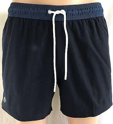 Lacoste Swim Trunks (NEW LACOSTE Cotton/Nylon Blend Men's Swim Trunks/Shorts, Sizes S, M, L,)