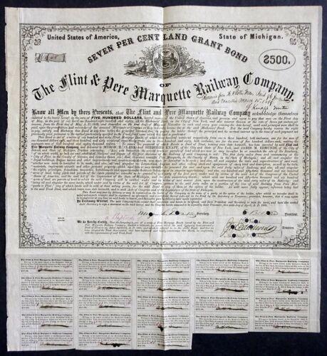 1860 Michigan: The Flint & Pere Marquette Railway Company